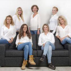 Nanny home groepsfoto